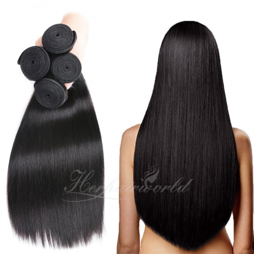 Wholesale Straight 100% Virgin Human Hair(100grams/bundle)