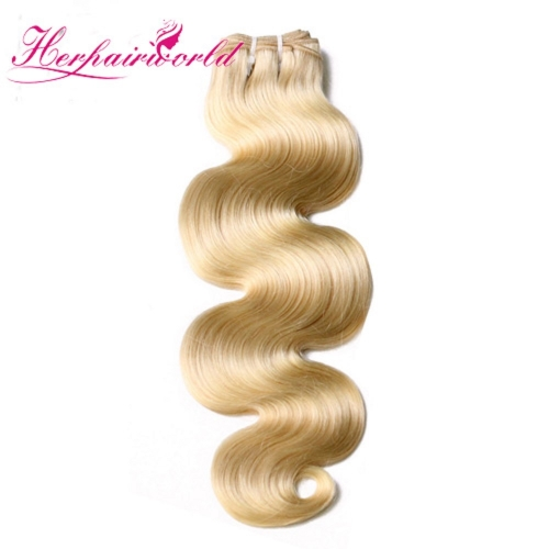 Wholesale Platinum Blonde #613 Body Wave Hair Bundle(100grams/bundle)