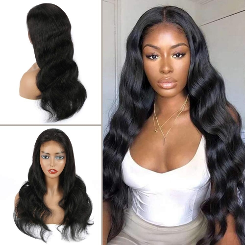 4×4 Lace Closure Wig - Body Wave(180% Density)